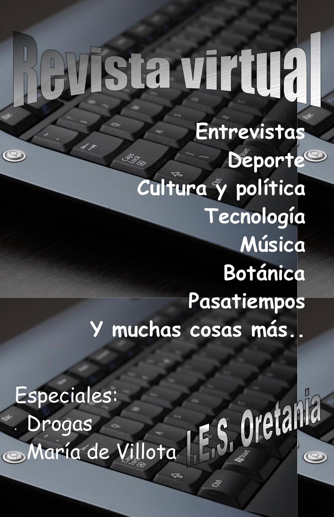 Revista virtual alumnos bachillerato Rocío, Alba, Elvira , Raúl TERMINADO.pdf-Página 1