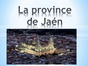 La province de Jaén. Loli Quesada Gallego PDF
